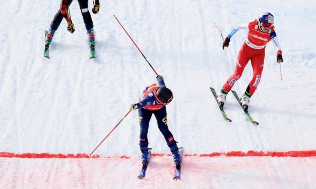Fanny Smith termine sa saison à la 2e place à Veysonnaz