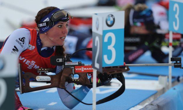 Lena Häcki finit la saison sur une belle note