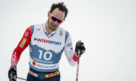 Triplé norvégien sur le 15 km, Dario Cologna 13e