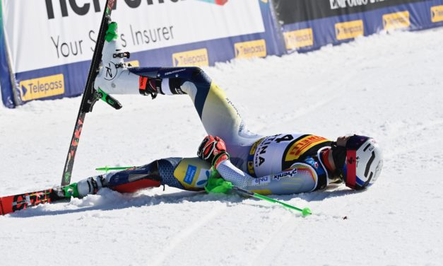 Henrik Kristoffersen se fracture une cheville