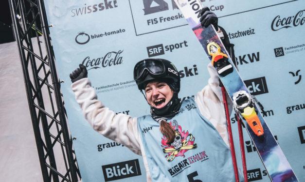 Sarah Höfflin commence par un podium